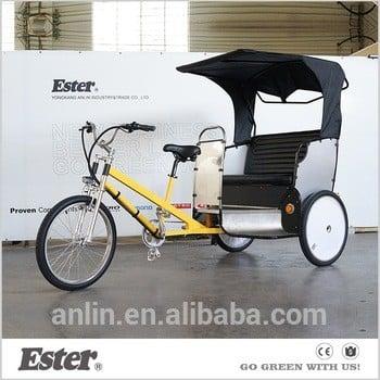 在中国新的人力三轮车、客运三轮车销售