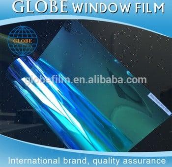 热销项目紫车窗膜、变色龙太阳能汽车窗玻璃着色膜