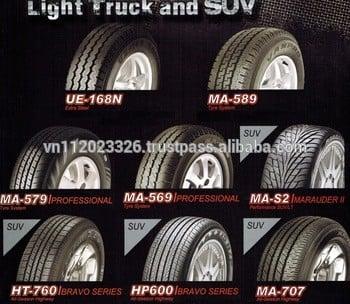 最好的质量,最好的价格在泰国玛吉斯轮胎轿车轮胎195r14c ue168n花纹钢径向LTR 4x4汽车内胎