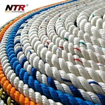 NTR高强度规格聚丙烯绳扭曲的海洋