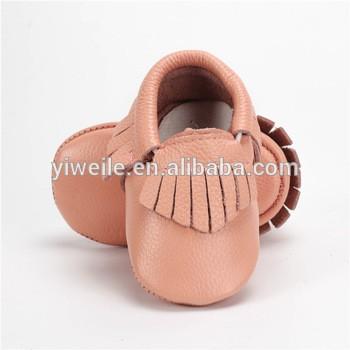 2017时尚新生女婴鞋真皮婴儿鞋