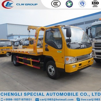 Factory sale new model JAC multifunctional towing truck