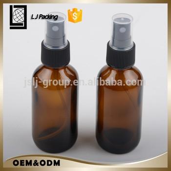 100毫升琥珀气雾喷雾玻璃精油瓶