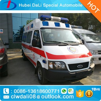 Ambulance high roof with equipment for patient rescue 2017