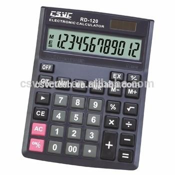 出口到世界各地的最佳价格12位数计算器