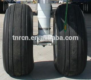 可提供不同尺寸的飞机轮胎