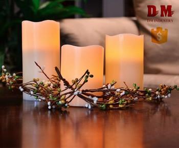 价格便宜的新型塑料柱状蜡烛蜡烛