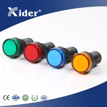 Xider AD22-22DS 22mm 12/24/48/220/320V LED indicator light with buzzer