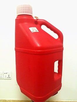 定制塑料油桶、油罐、燃料5L/ 10L/ 5gallon