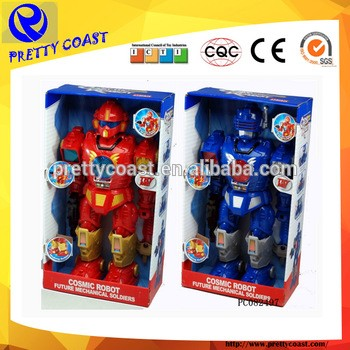 Super battery operated robot with light and sounds educational robot toys