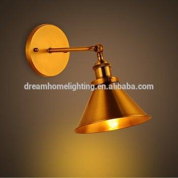 酒店领导爱迪生球铁黄铜壁灯