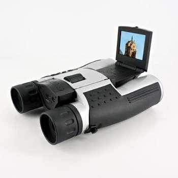 """2016出厂价格高质量的长距离望远镜12mp双目望远镜相机与2""""屏幕录像"""