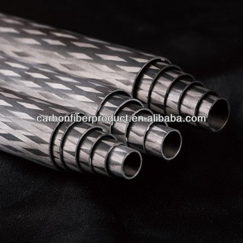 定制50mm70mm 100mm碳纤维管轧制技术包