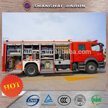中国进口站台空中平台消防车
