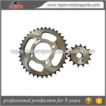 Motorcycle parts Chain Sprocket for C100