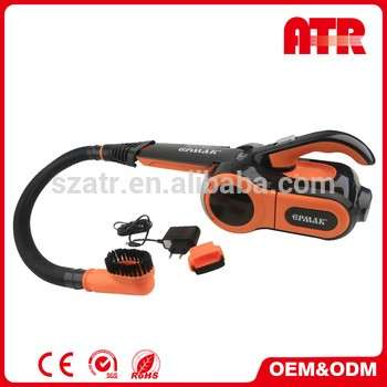 Rechargeable auto car vacuum cleaner