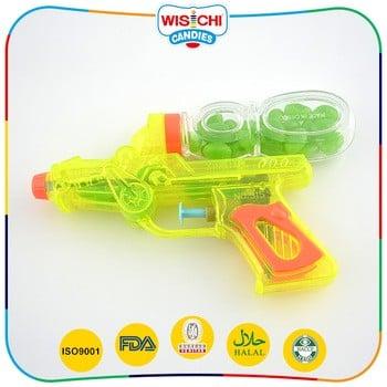 最受欢迎的小塑料水枪糖果果冻豆玩具