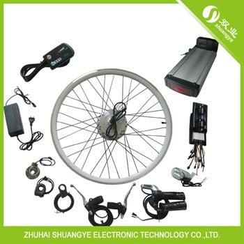 Wuxing Throttle 350w Hub Motor Cheap Electric Bike Kit