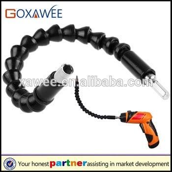 300mm Electronics Drill Bits Extension Screwdriver Bit Holder Connector Link Snake Drill Flexible Drive Shaft
