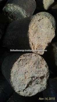 圆柱形稻壳型煤