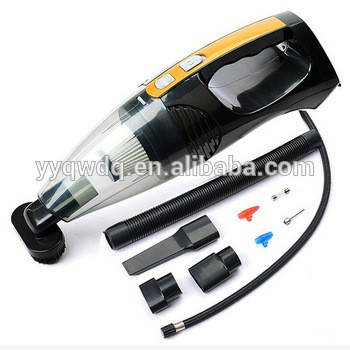 12v handheld 4 in 1 portable 100w wet and dry mini car vacuum cleaner