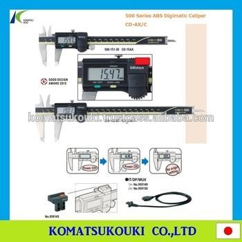 热销三丰数字游标卡尺,500系列ABS电子数显卡尺,cd-ax / C与日本制造的高性能