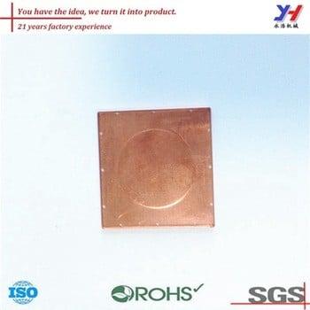ISO定制的笔记本电脑冷却垫,冲压铜零件,消费电子为您的图纸SGS ROHS