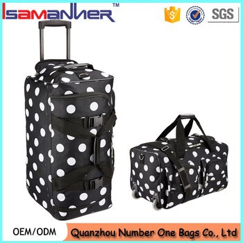 10ac5188d6c89 Unisex durable travel luggage bag airport