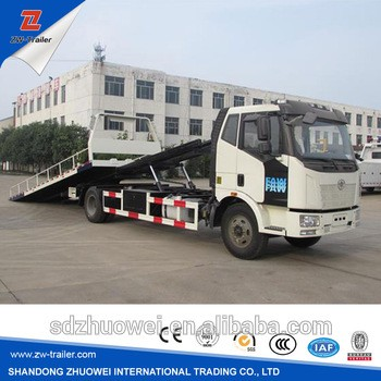 Foton 4x2 Car Carrier Tow Truck For Sale