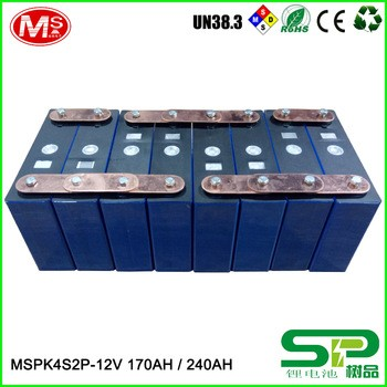 240ah LiFePO4电池12V可充电锂离子电池的太阳能储存或风力发电机