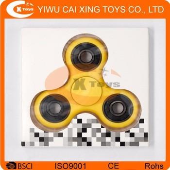 抗应激烦躁手游戏机高质量铝三旋转玩具hs-001-049