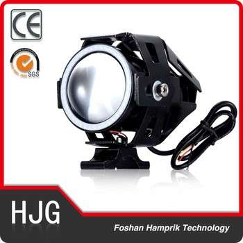 factory supply 15W 2200 Lumen led motorcycle headlight , led U7 motorcycle headlight