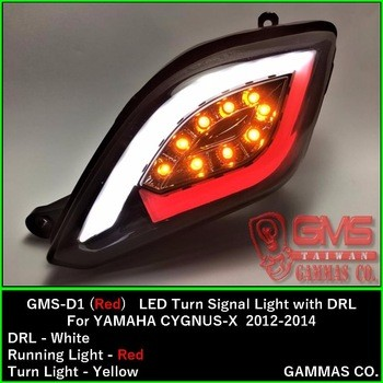 High Quality Motorcycle Parts LED Turn Signal Light With DRL