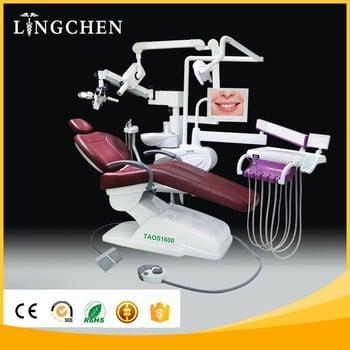 广州工厂的牙科椅价格与显微镜X射线从中国牙科治疗机