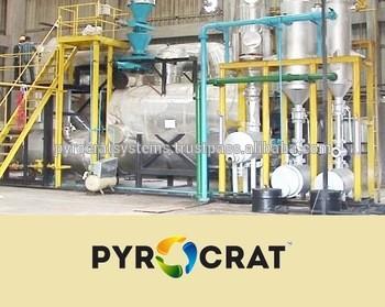 轮胎回收机,塑料回收热解工厂废油柴油