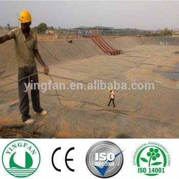 HDPE土工膜池。