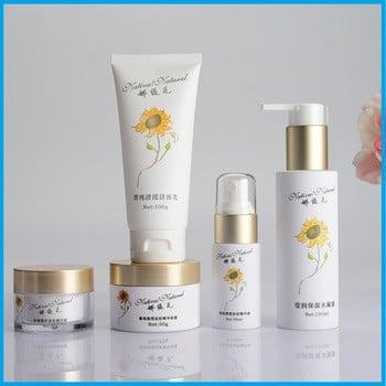 定制塑料可生物降解有机日本豪华化妆品包装