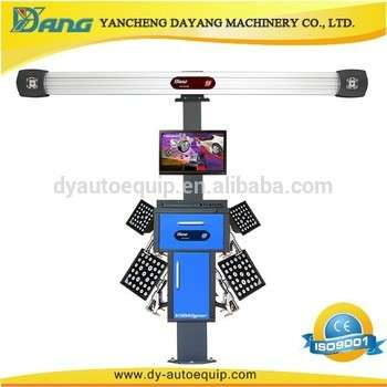 Auto garage equipment 3d wheel alignment machine price for sale