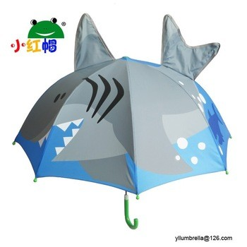 高品质促销儿童动物印花伞制造商
