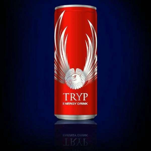 TRYP ENERGY DRINKS