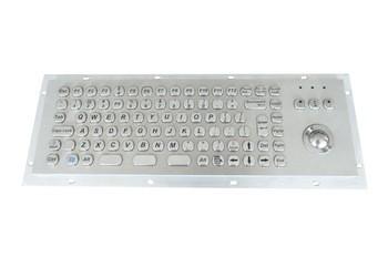 防水防尘等级IP65不锈钢金属键盘电脑亭