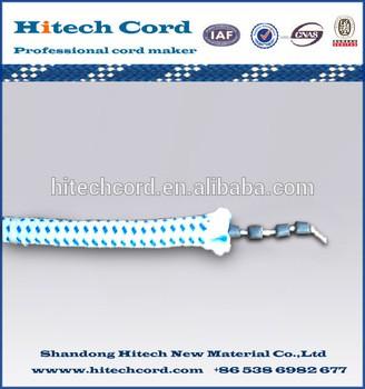 比较渔网的铅绳,渔网的芯芯重量
