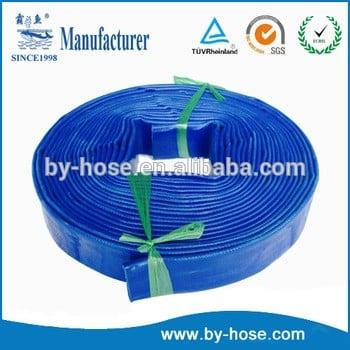 工厂供应优质1英寸PVC平放软管