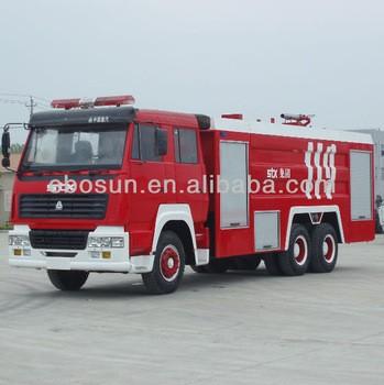 Best Factory Supply 16000Liter Fire Tank Truck For sale