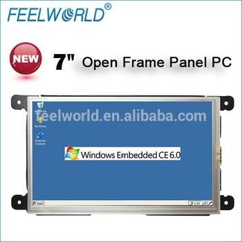 7英寸RS323 Linux WinCE嵌入式工业控制微型廉价的工业触摸平板电脑一体机
