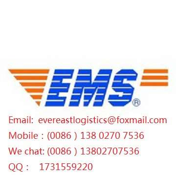EMS courier service door to door from shenzhen,China to worldwide