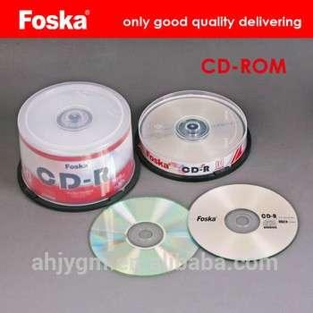 流行的700mb三彩色印刷的CD / DVD - ROM光盘