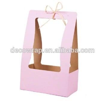Best Custom Foldable Flower Basket Flower Packaging Gift Boxes