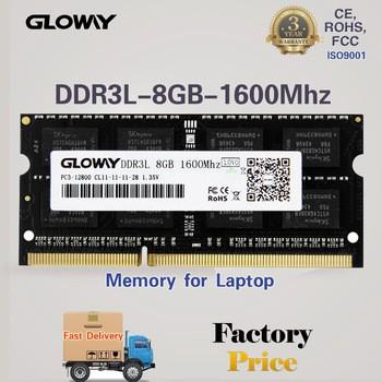 3年保修的SODIMM笔记本pc3-12800 RAM DDR3 8GB的1600兆赫