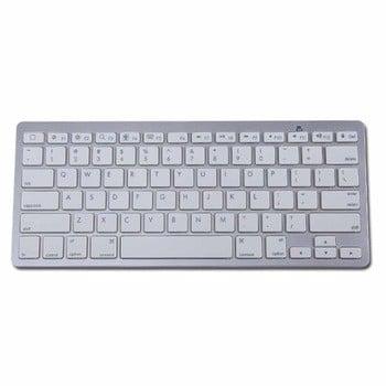 超薄迷你蓝牙3无线铝键盘MacBook iPad的Android平板电脑win7
